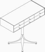 6 Drawer Ped