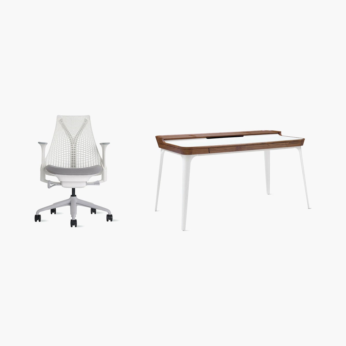 Sayl Chair / Airia Desk Office Bundle