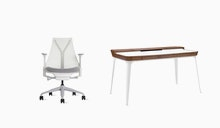 Sayl Chair / Airia Desk Office Bundle