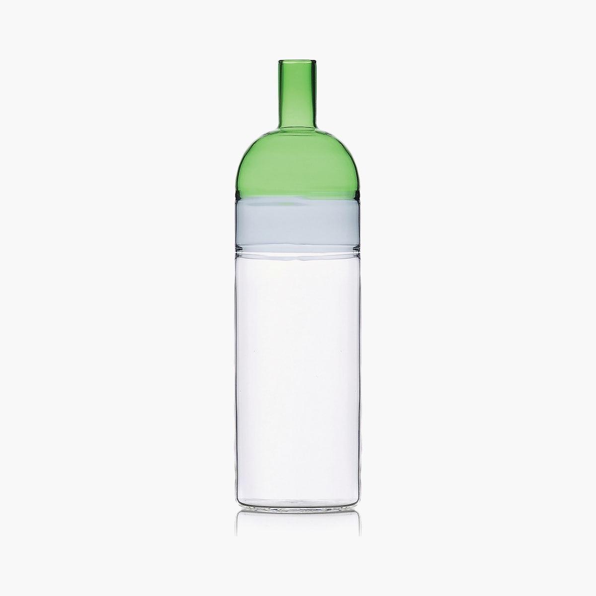 Tequila Sunrise Bottle, Smoke / Green