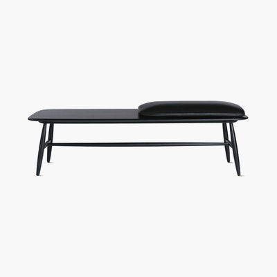 Von Bench with Leather Seat Pad