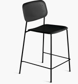 Soft Edge Stool, Plastic