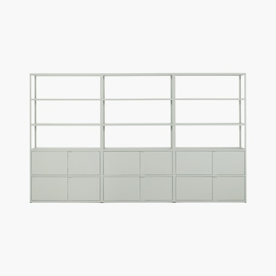 New Order Set - High Single Bookshelf with Storage