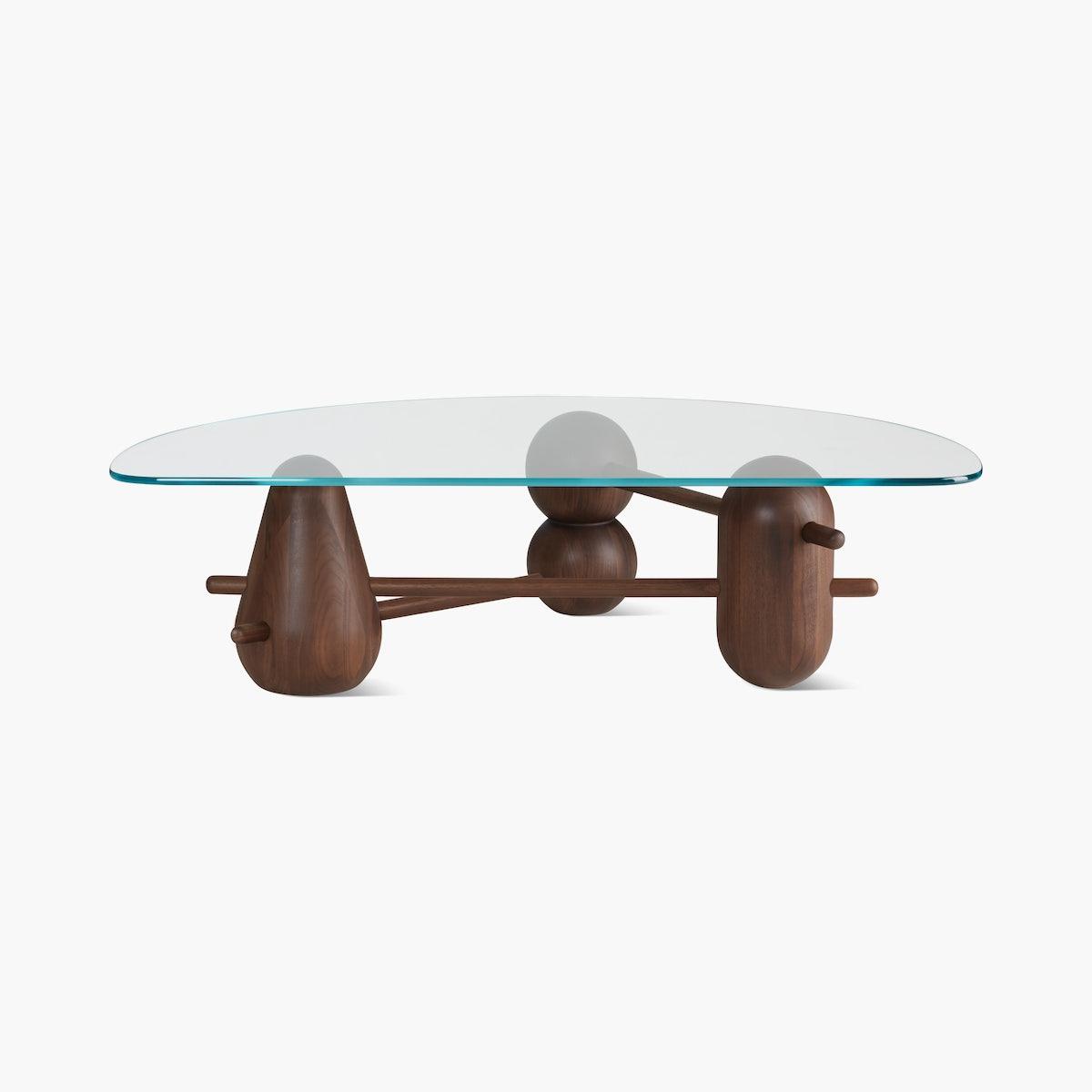 Hew Coffee Table, Half Moon
