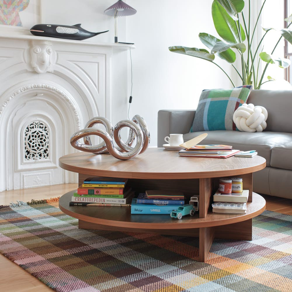 Risom Low Coffee Table