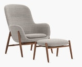 Nora Lounge Chair & Ottoman