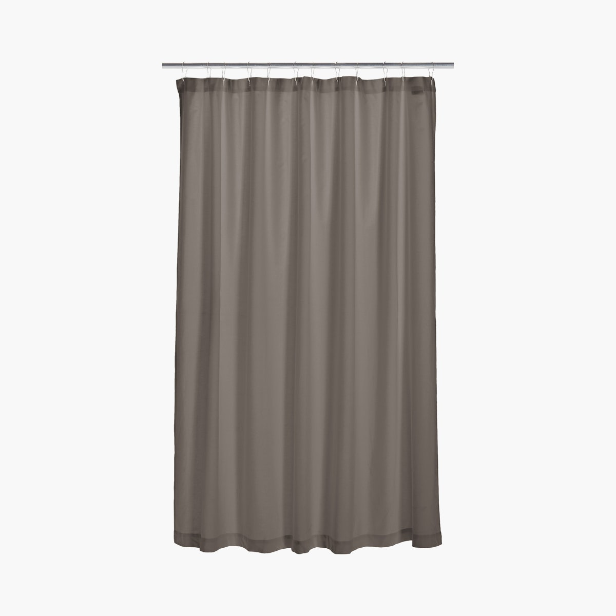 DWR Solid Shower Curtain