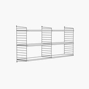 "30"" High - 2 Bays - 32"" Wide Shelves"