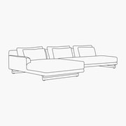 Open - Left Facing Chaise