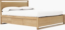 Matera Bed, High Headboard