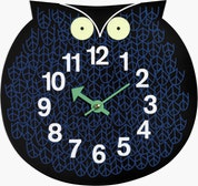 Nelson Omar The Owl Wall Clock
