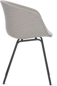 AAC 27 - About a Chair - Upholstered Armchair Metal Base