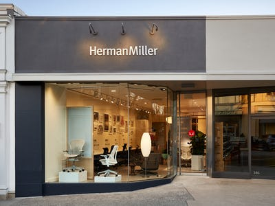 Herman Miller Greenwich Seating Store Exterior