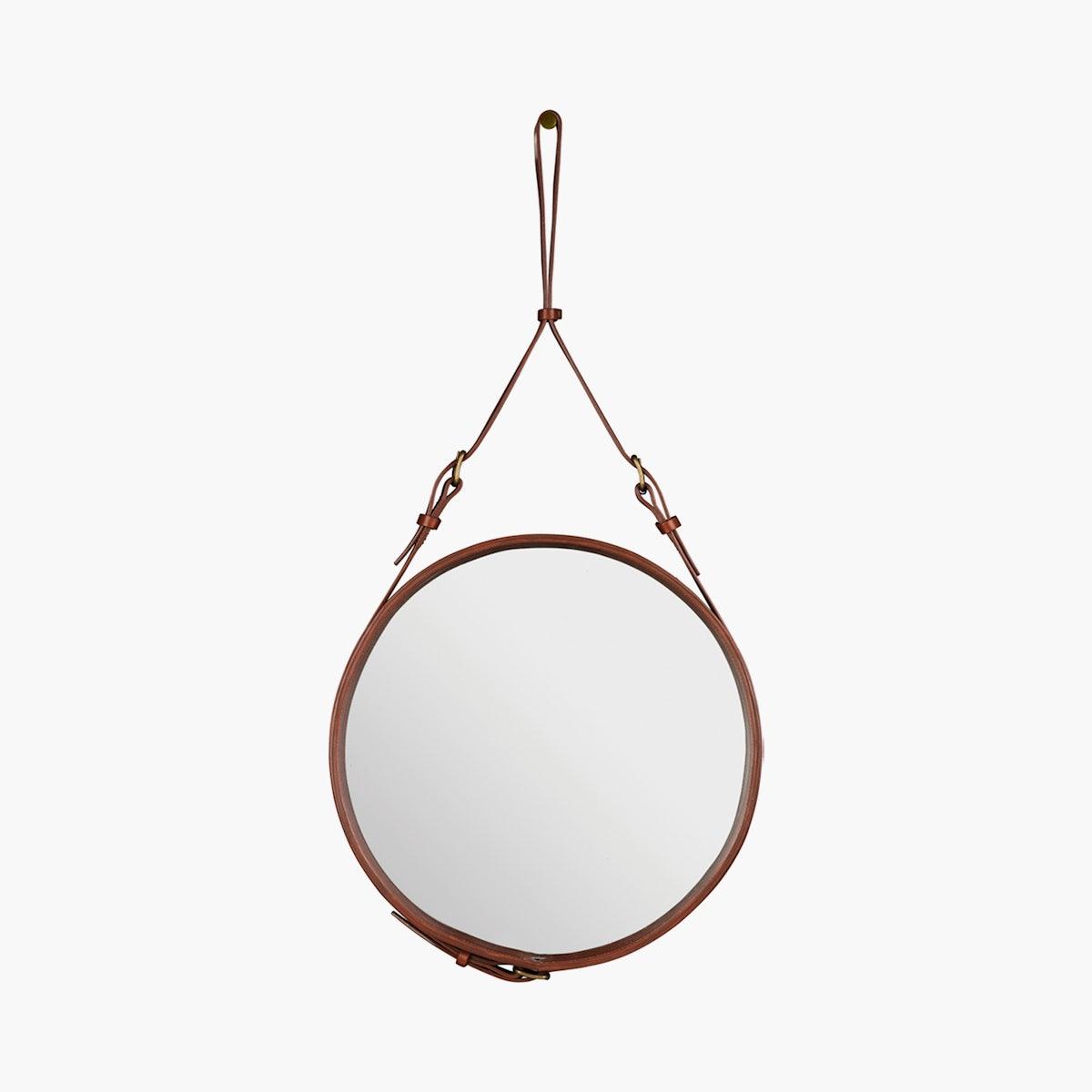 Adnet Round Mirror