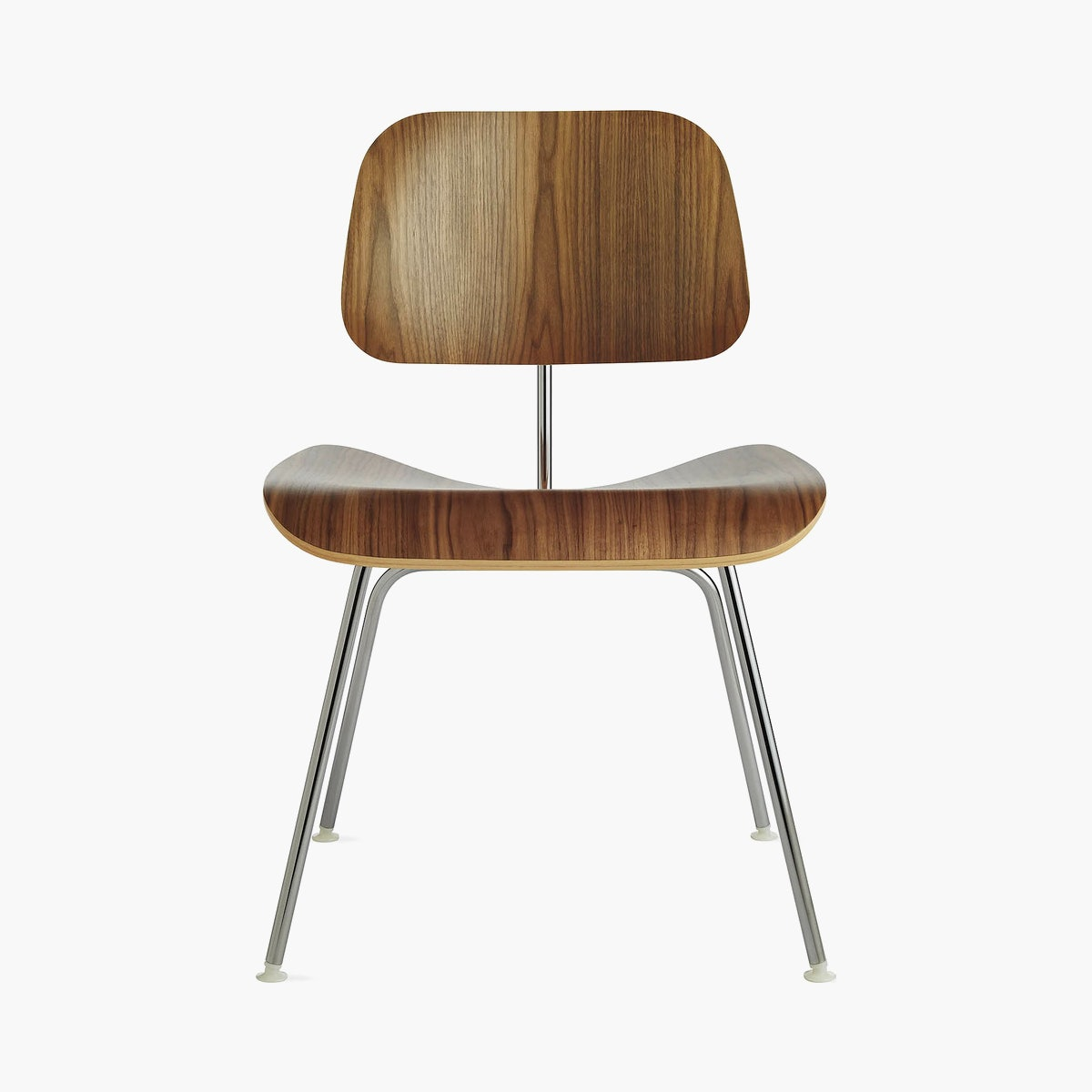 Eames Molded Plywood Dining Chair Metal Base (DCM)
