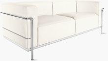 LC2 Petit Modele Two-Seater Sofa