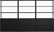 New Order Set - High Single Bookshelf with Storage