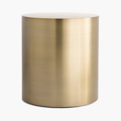 Milo Baughman Drum Side Table