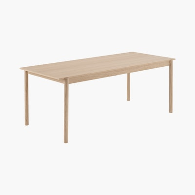 Linear Wood Table,  79