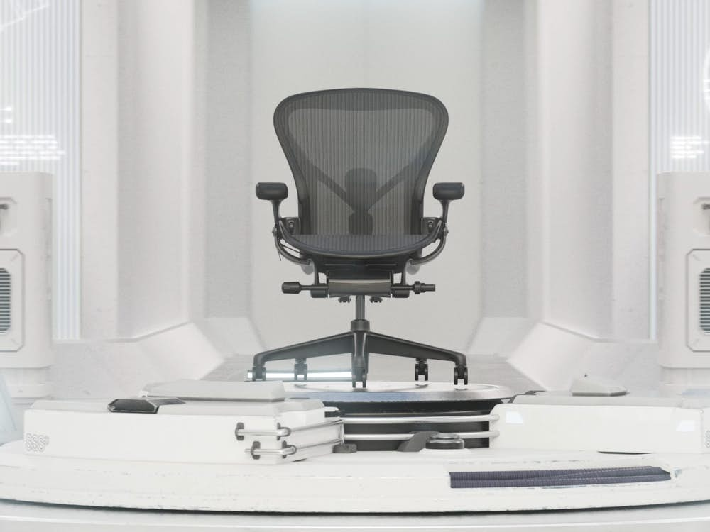 HM Dissect the Details Still - Aeron Chair