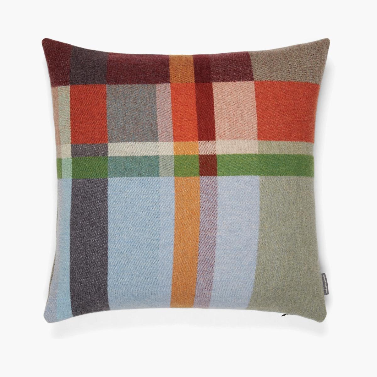 Feilden Lambswool Block Pillow