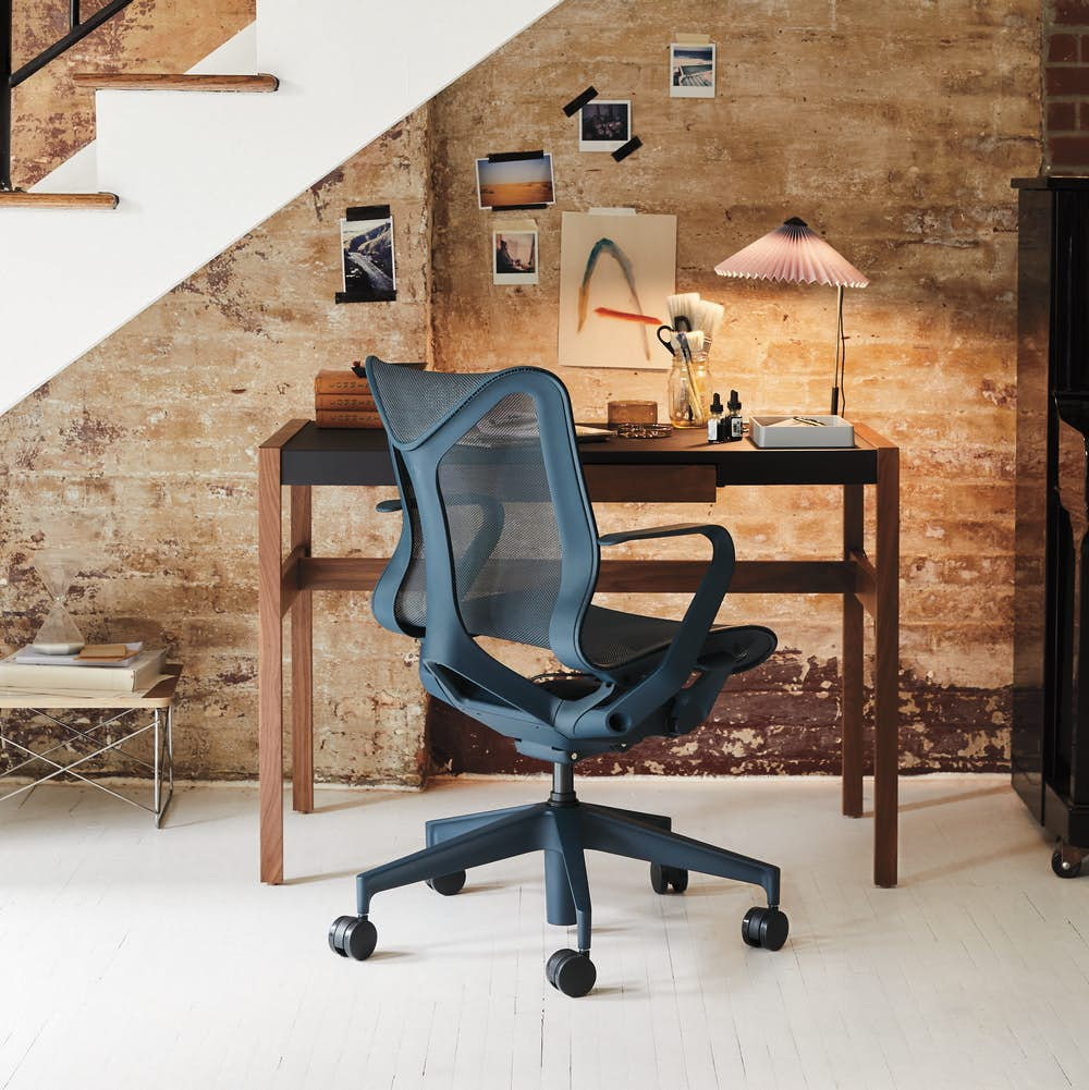 Cosm Chair with Risom Desk