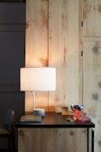 Pleat Drum Table Lamp