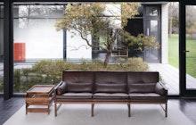 Wood Frame Sofa