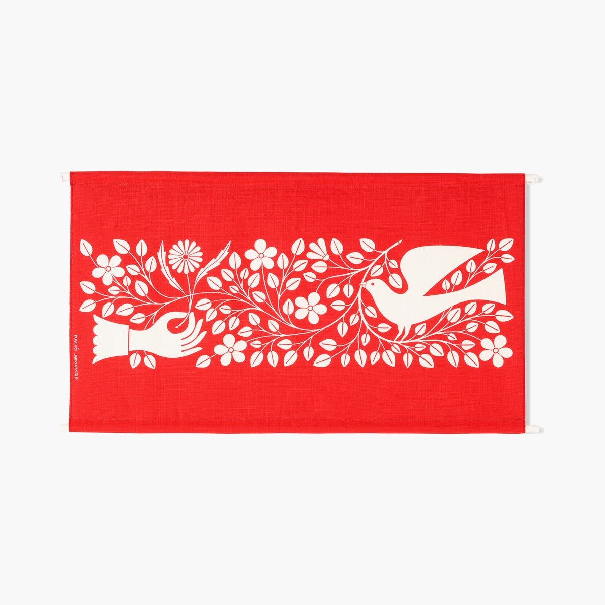 """Hand & Dove"" by Alexander Girard"