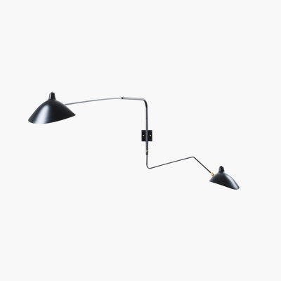 Serge Mouille Two-Arm Wall Sconce