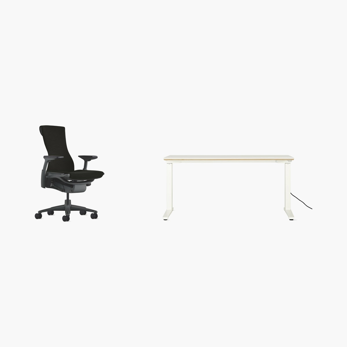 Embody Chair / Renew Desk Office Bundle