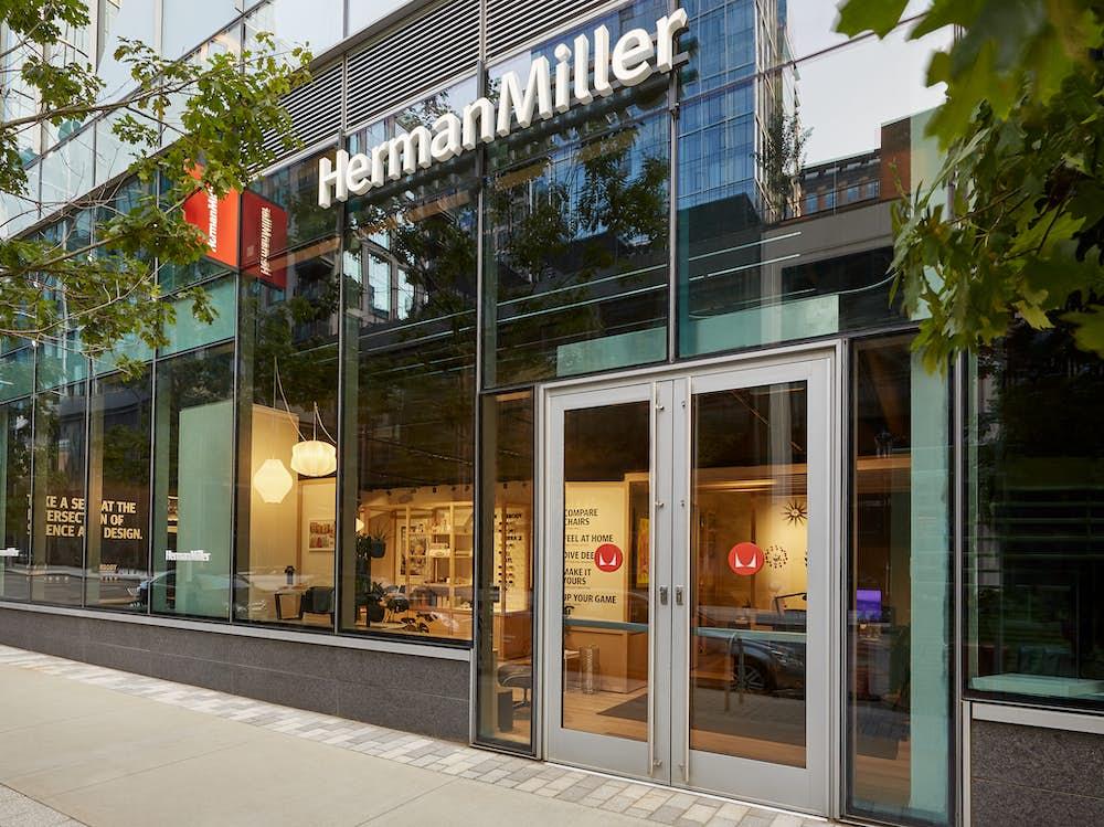 Herman Miller Boston Seating Store Exterior