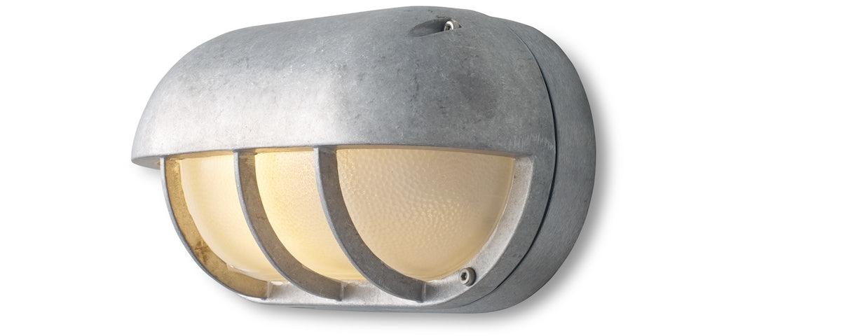 Oval Aluminum Bulkhead Light