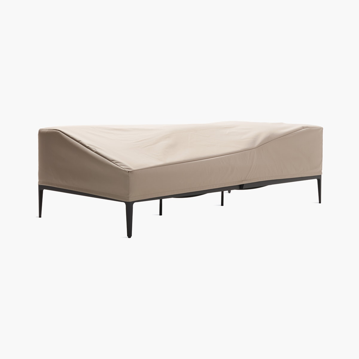 Grid One-Arm Sofa Cover