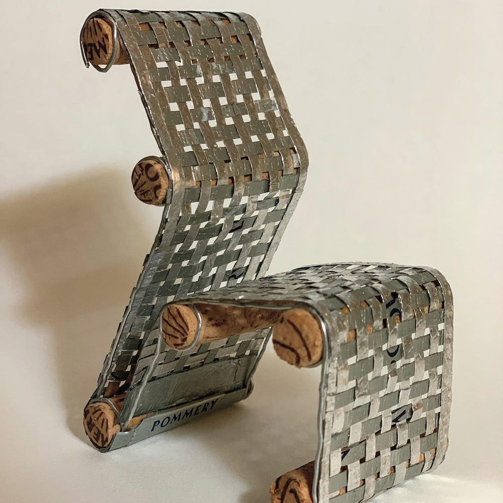 2nd Place: Woven Chair