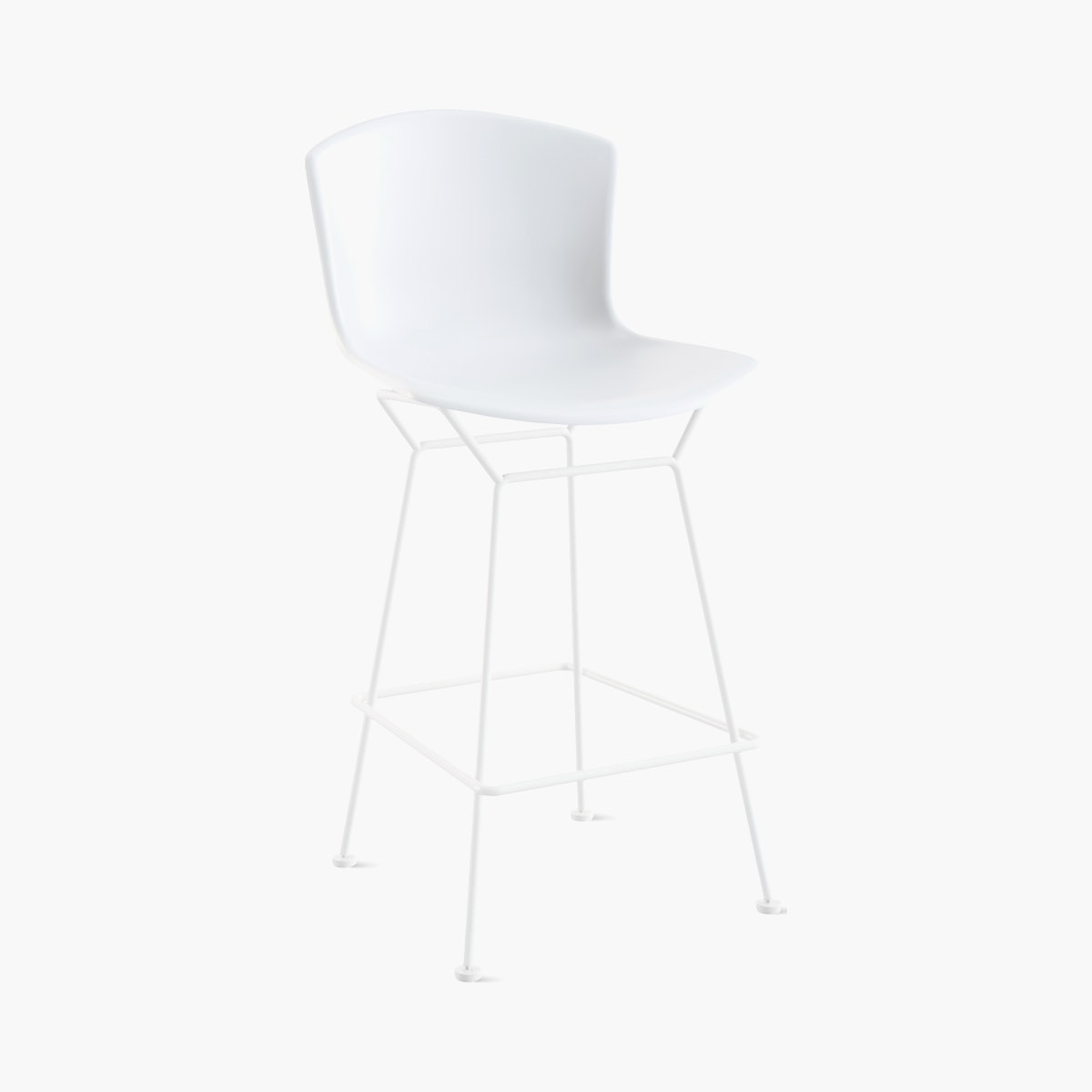 Bertoia Molded Shell Stool