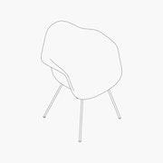 Fiberglass - 4-Leg Base