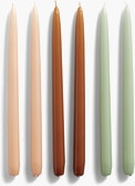 Hay Conical Candle,  Set of 6