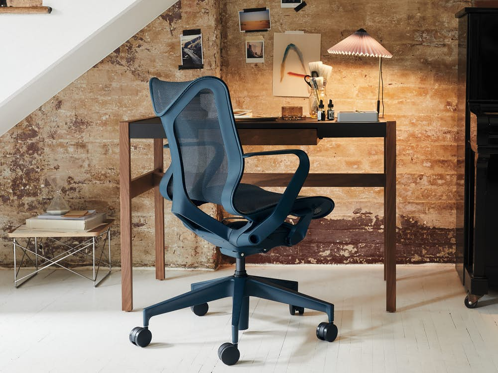 Risom Desk with Cosm Chair
