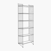 "1 Bay - 79"" High - 32"" Wide Shelves"