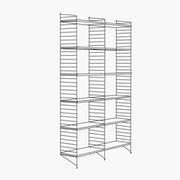 "2 Bays - 79"" High - 24"" Wide Shelves"