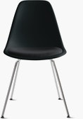 Eames Molded Plastic Side Chair with Seat Pad (DWR)