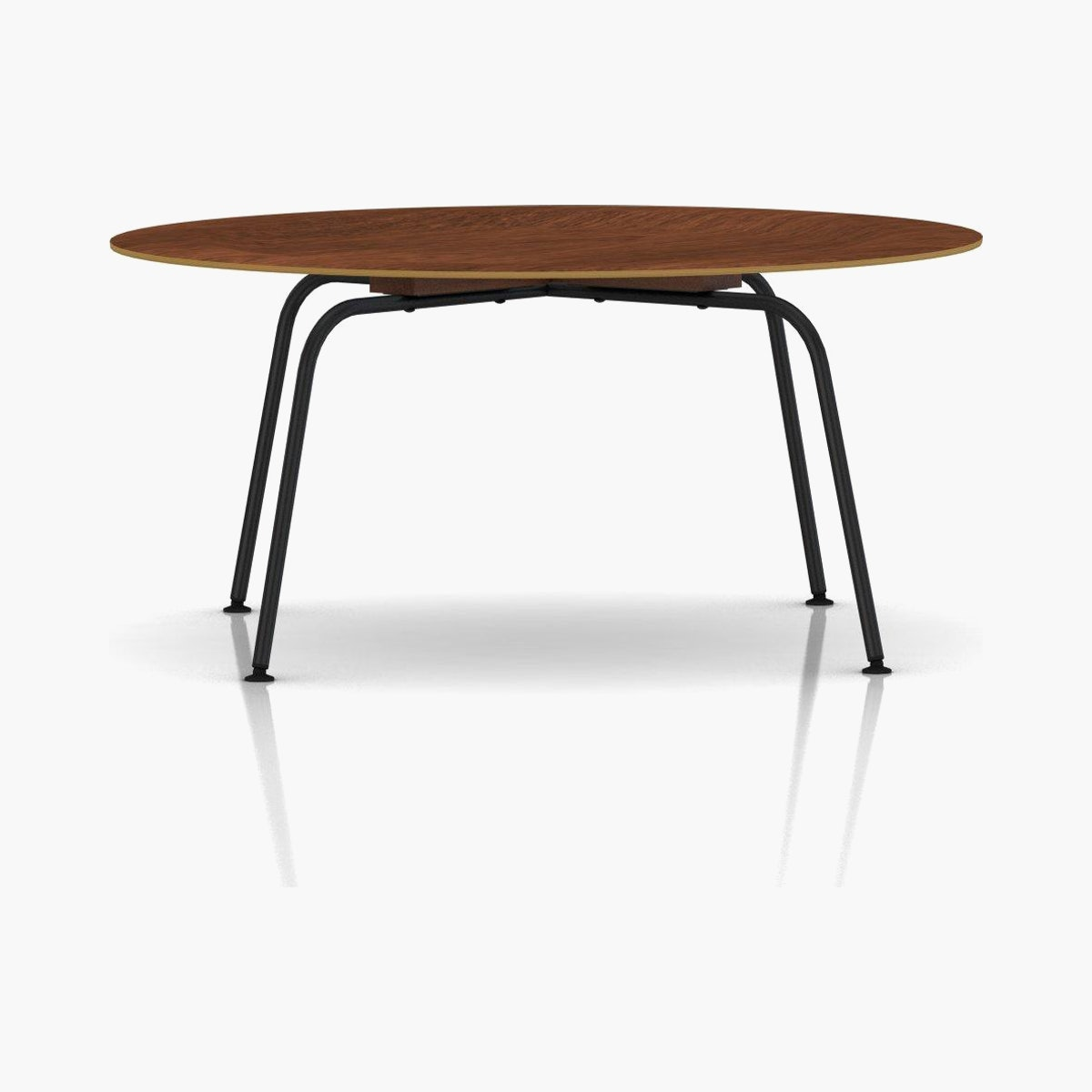 Eames Molded Plywood Coffee Table Metal Base