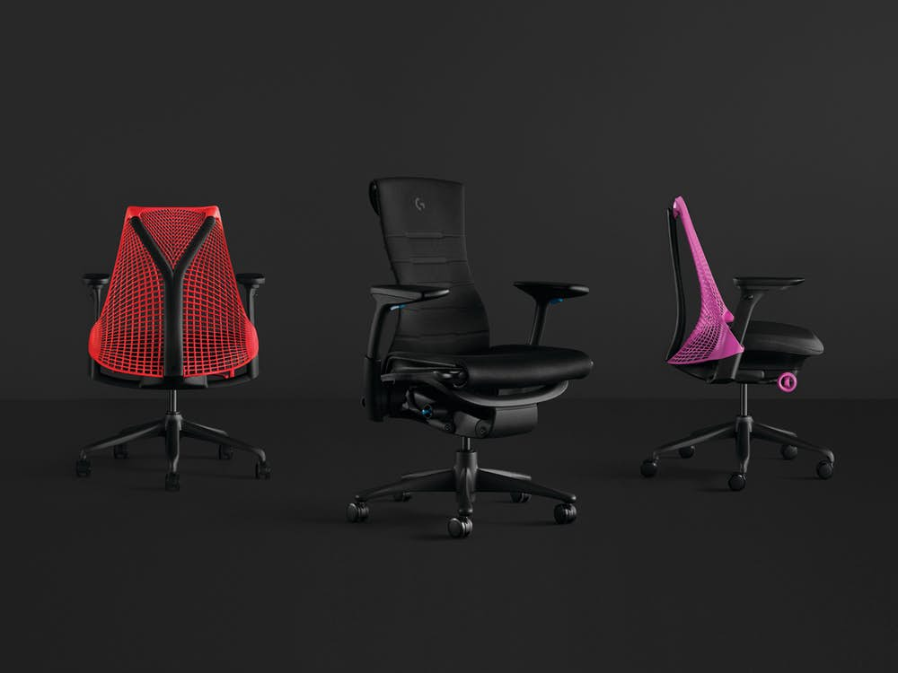 Sayl Gaming Chair and Embody Gaming Chair