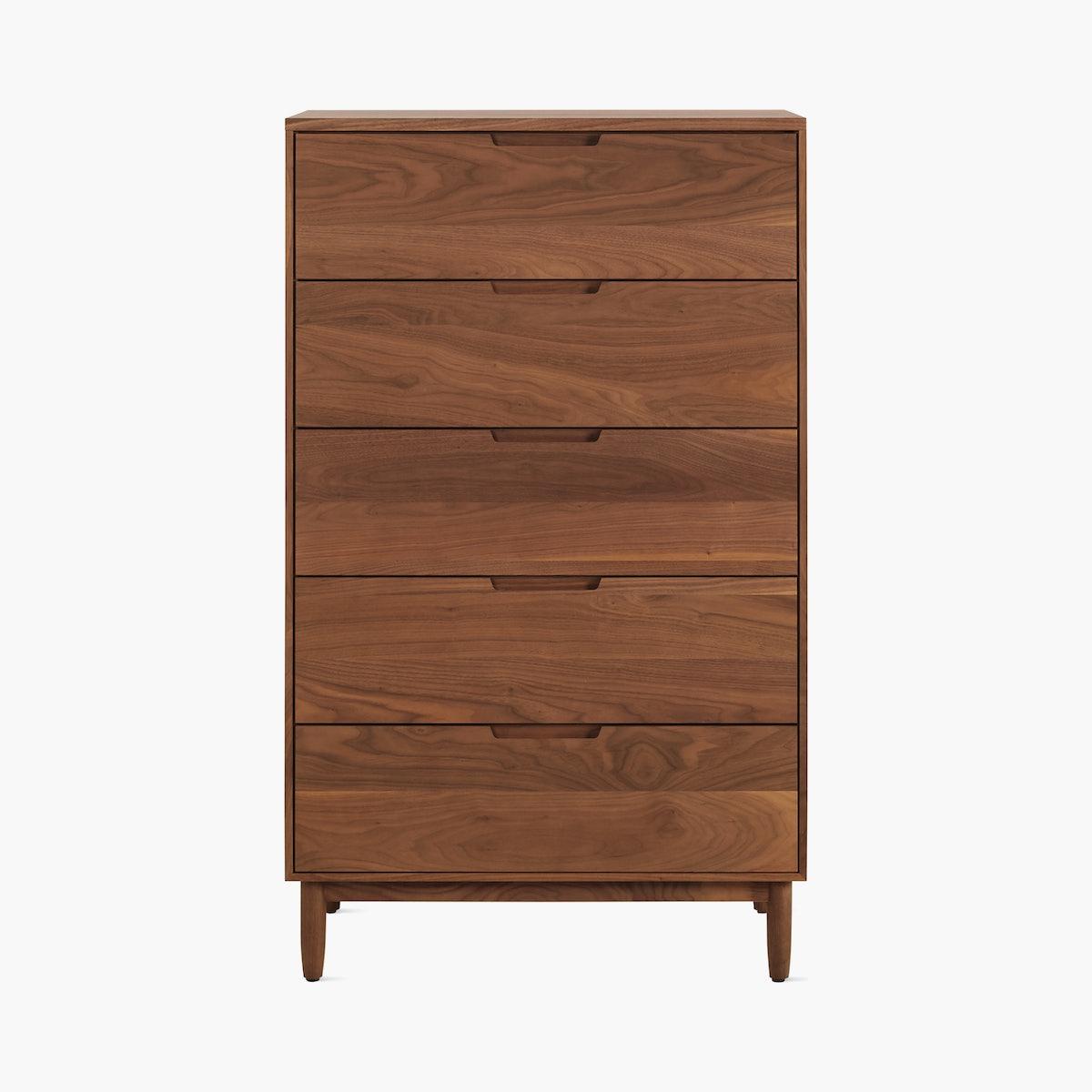 Raleigh Dresser, Five Drawer