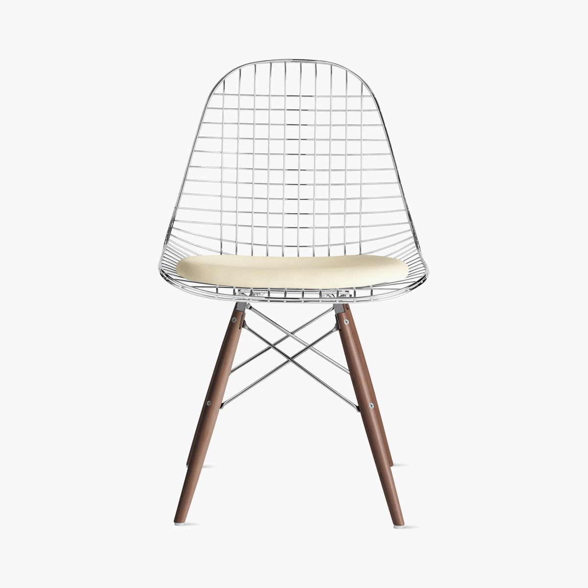 Eames Wire Chair, with Seat Pad
