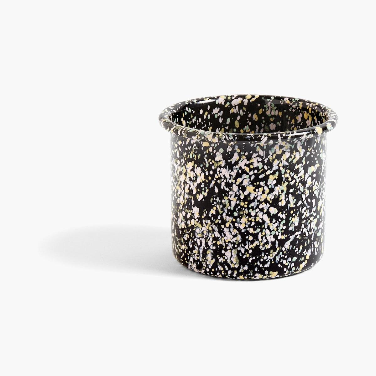 Enamel Herb Pot