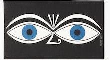 A Girard Environmental Enrichment Panel in Eyes pattern.