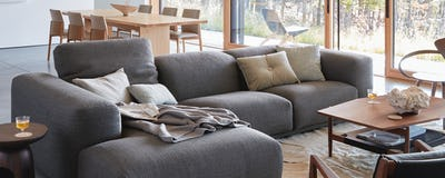 Kelston Sectional with Chaise Left