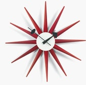 Nelson Sunburst Clock